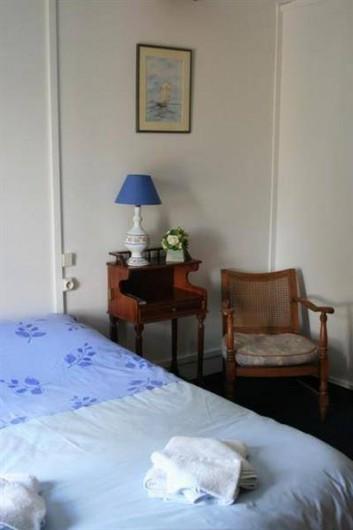 Location de vacances - Chambre d'hôtes à Villers-en-Ouche - Chambre MYOSOTIS