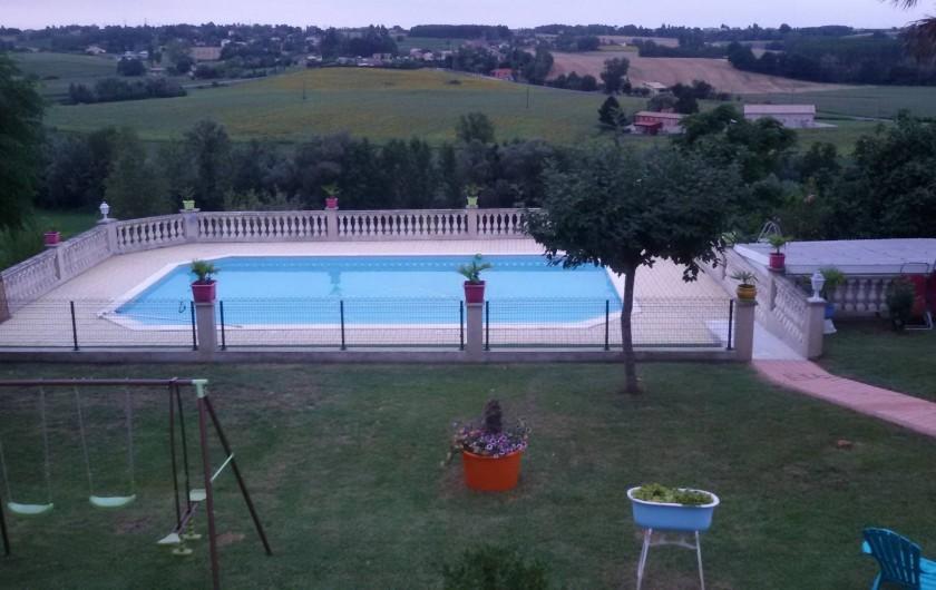 Location de vacances - Gîte à Castelnau-sur-Gupie - nouvelle piscine 2016 cloturée