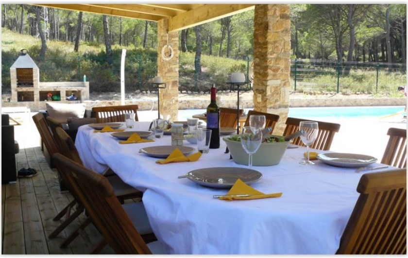 Location de vacances - Villa à Pals - Terrasse 1