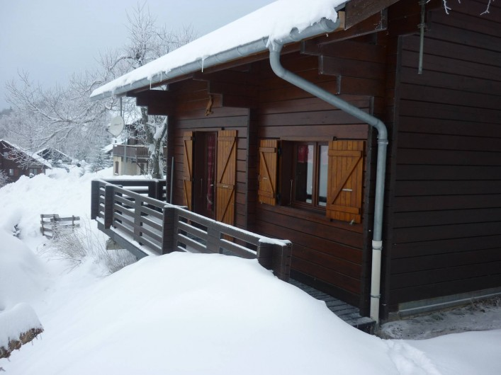 Location de vacances - Chalet à Station de l'Alpe du Grand Serre