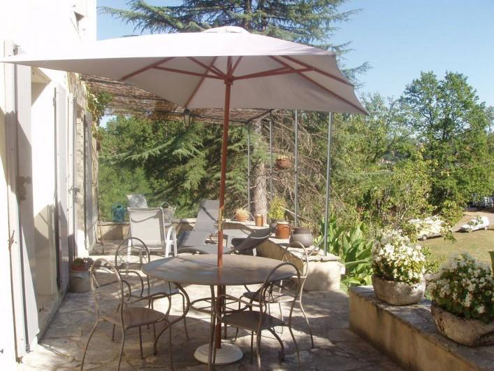 Location de vacances - Maison - Villa à Sarlat-la-Canéda - terrasse
