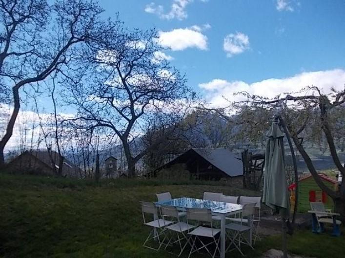 Location de vacances - Villa à Les Vabres - L'une des vues visible de la maison .