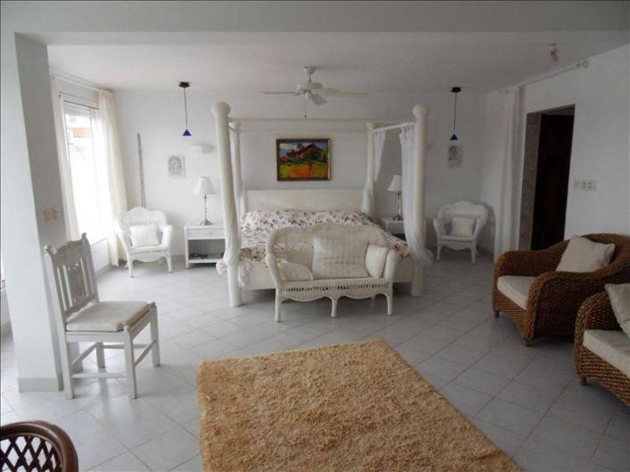 Location de vacances - Villa à Maho - chambre de maitre : 40 m2