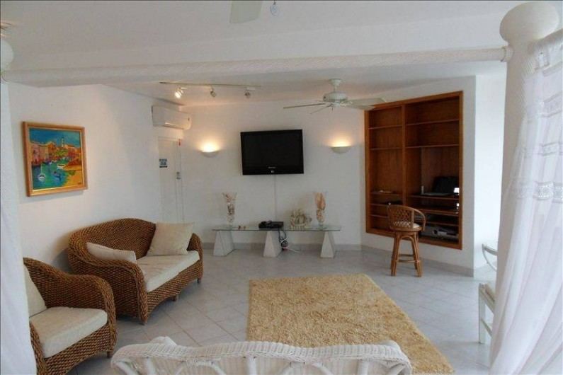 Location de vacances - Villa à Maho - chambre de maitre 40 m2