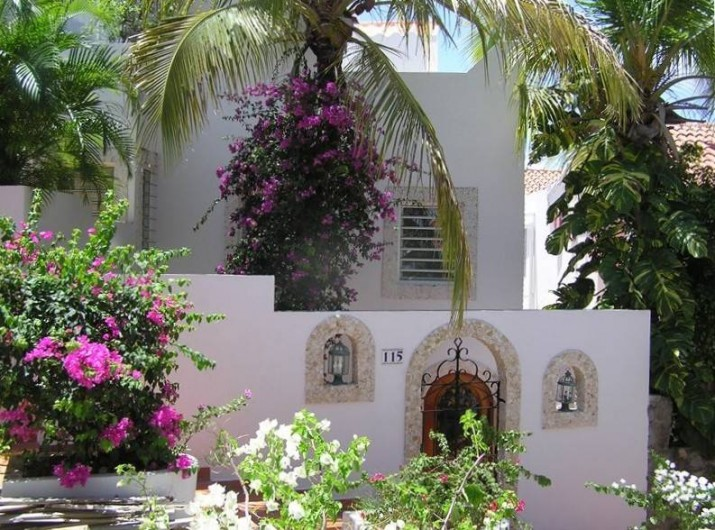 Location de vacances - Villa à Maho - Entrée côté accès piétonnier