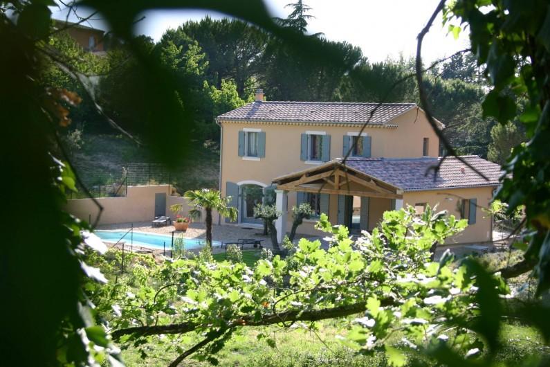 Location de vacances - Maison - Villa à Vaison-la-Romaine - Côté Sud Est