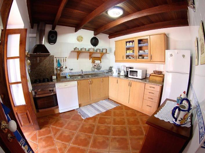 Location de vacances - Villa à Estreito da Calheta - Cuisine