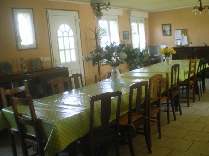 Location de vacances - Villa à Friville-Escarbotin - salle à manger