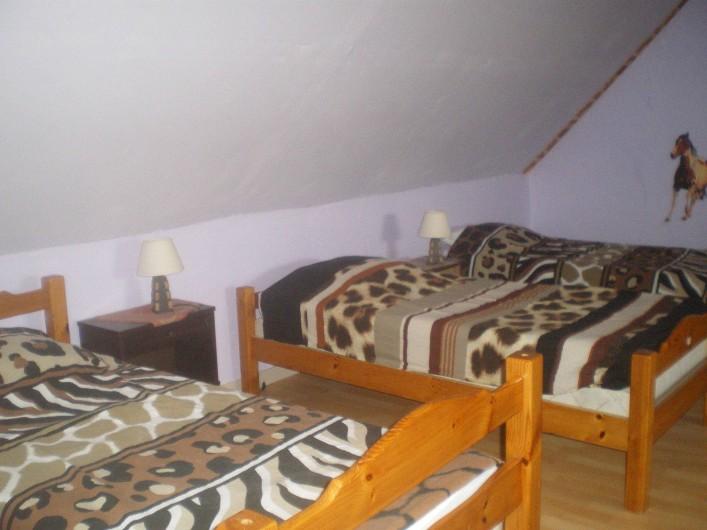 Location de vacances - Villa à Friville-Escarbotin - chambre 4