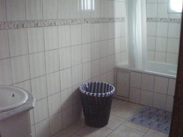 Location de vacances - Villa à Friville-Escarbotin - salle de bain