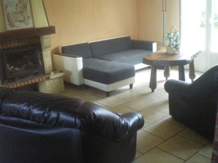 Location de vacances - Villa à Friville-Escarbotin - salon