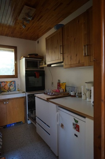 Location de vacances - Chalet à Seyne - cuisine a l'étage