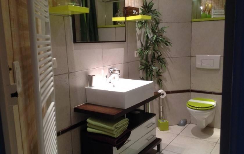 Location de vacances - Appartement à Perpignan - SALLE DE BAIN