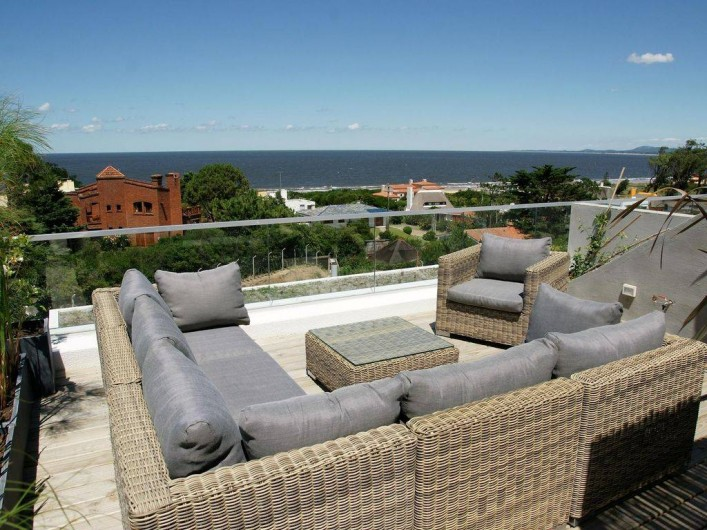 Location de vacances - Appartement à Maldonado - Coin terrasse supérieure