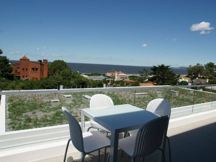 Location de vacances - Appartement à Maldonado - Terrasse du bas attenante au living