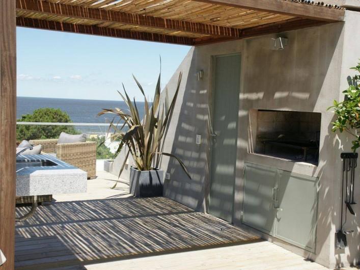 Location de vacances - Appartement à Maldonado - Coin barbecue