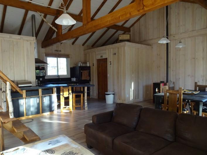 Location de vacances - Maison - Villa à Naujac-sur-Mer - vue depuis le salon