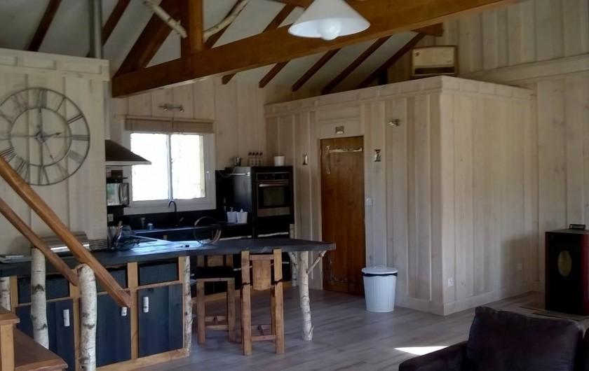 Location de vacances - Maison - Villa à Naujac-sur-Mer - cuisine et cellier