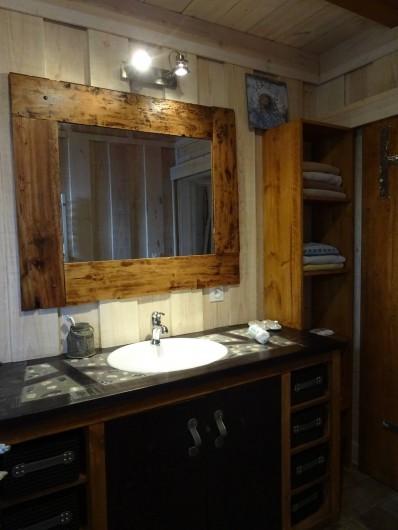 Location de vacances - Maison - Villa à Naujac-sur-Mer - salle de bain