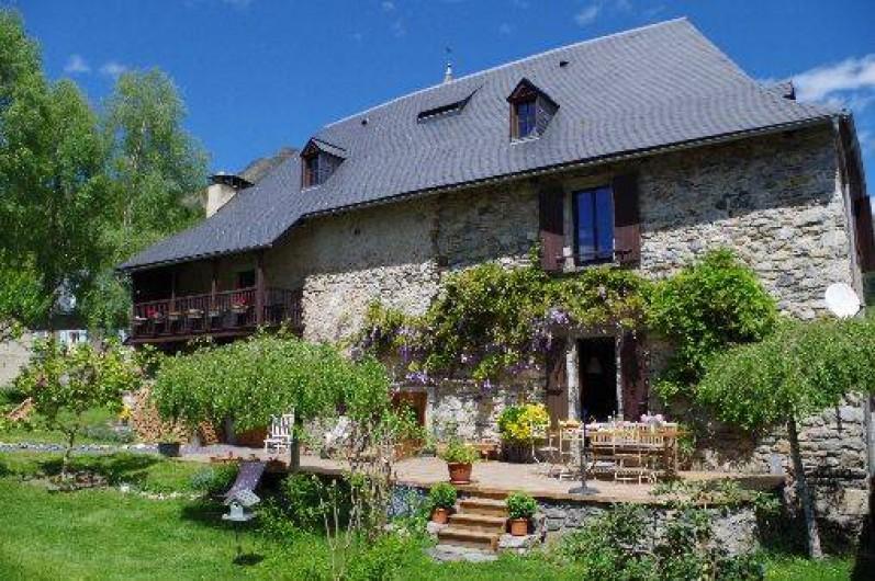 Location de vacances - Chambre d'hôtes à Arrens-Marsous - Maison Sempé classée 4 épis Gîtes de France 65