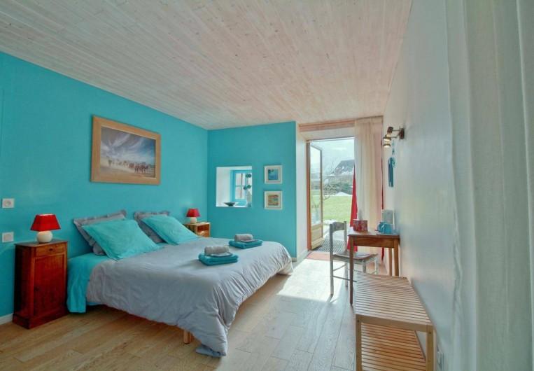Location de vacances - Chambre d'hôtes à Arrens-Marsous - L'Oasis au Rez-de-chaussée avec lit en 180 X 190