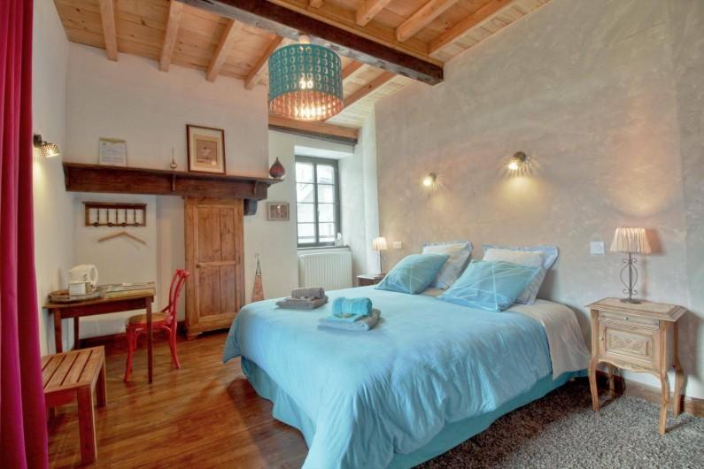 Location de vacances - Chambre d'hôtes à Arrens-Marsous - La Galerie avec lit en 180 X 200 peut former une suite familiale agréable