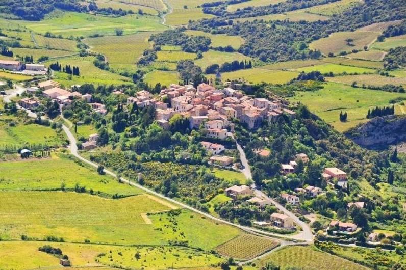 Location de vacances - Gîte à Cucugnan - Village de Cucugnan