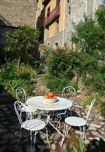 Location de vacances - Gîte à Cucugnan - Jardin