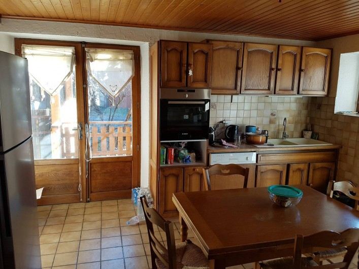 Location de vacances - Appartement à Samoëns - Cuisine