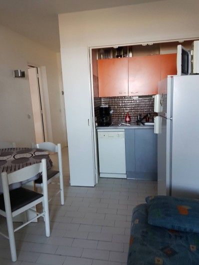 Location de vacances - Appartement à Port Leucate - Kitchenette