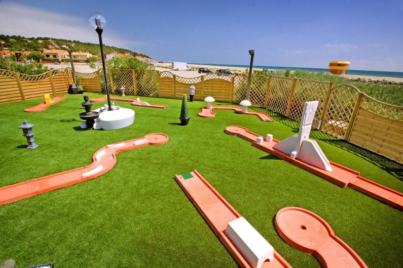 Location de vacances - Bungalow - Mobilhome à Leucate - mini golf