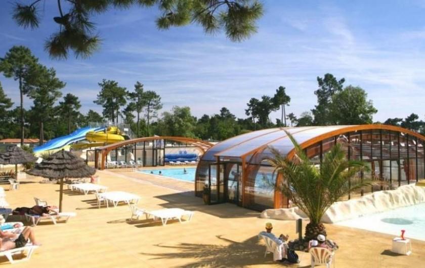 Location de vacances - Camping à Ronce les Bains - La Piscine et le Solarium