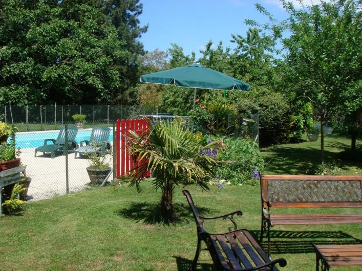 Location de vacances - Chambre d'hôtes à Messas - LE CLOS DE LA VIGNERONNE/JARDIN ET PISCINE
