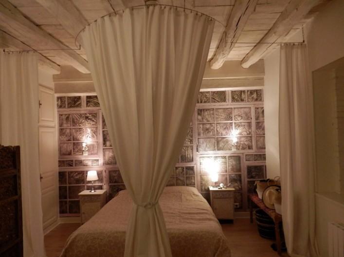Location de vacances - Chambre d'hôtes à Messas - LE CLOS DE LA VIGNERONNE/ CHAMBRE 5  ODALISQUE AVEC HAMMAM