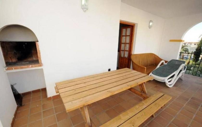 Location de vacances - Appartement à Orihuela - Grande  Terrasse  au  1er