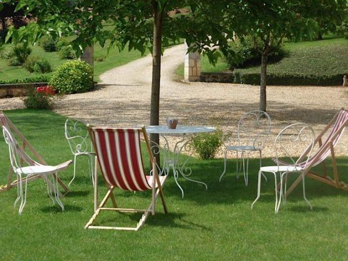 Location de vacances - Château - Manoir à Montagnac-la-Crempse