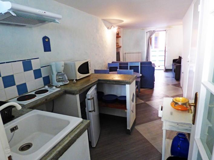 Location de vacances - Studio à Isola - Coin cuisine (studio 2)