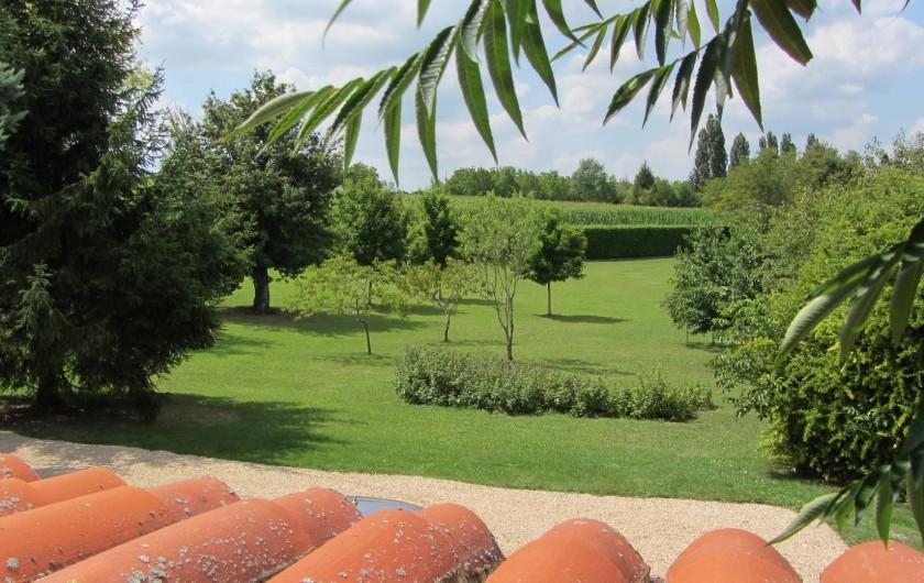 Location de vacances - Gîte à Douchapt - Jardin
