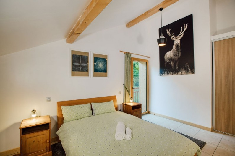 Location de vacances - Chalet à Samoëns - Bedroom 4 - set up as a triple