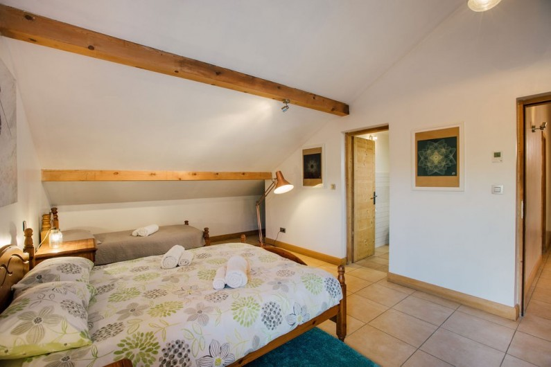 Location de vacances - Chalet à Samoëns - chambre 5