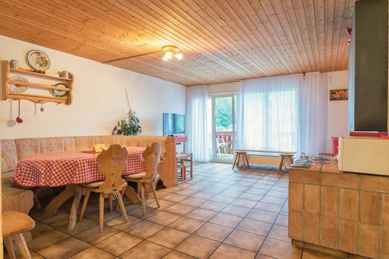 Location de vacances - Appartement à Fieschertal - Appartement  Seppi salle de séjour