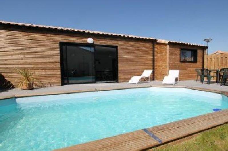 Location de vacances - Villa à Talmont-Saint-Hilaire - Piscine chauffée