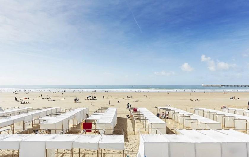 Location de vacances - Villa à Talmont-Saint-Hilaire - Grande plage des Sables d'Olonne (10 min)