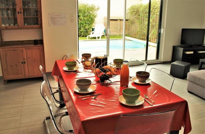 Location de vacances - Villa à Talmont-Saint-Hilaire - pièce de vie