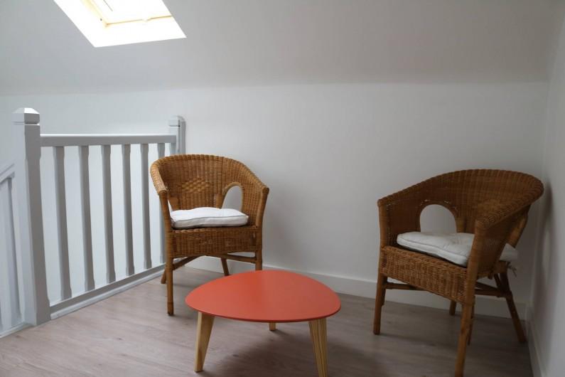 Location de vacances - Appartement à Aix-les-Bains - Hall d'accueil à l'étage sur le pallier de l'Emeraude et Rubis