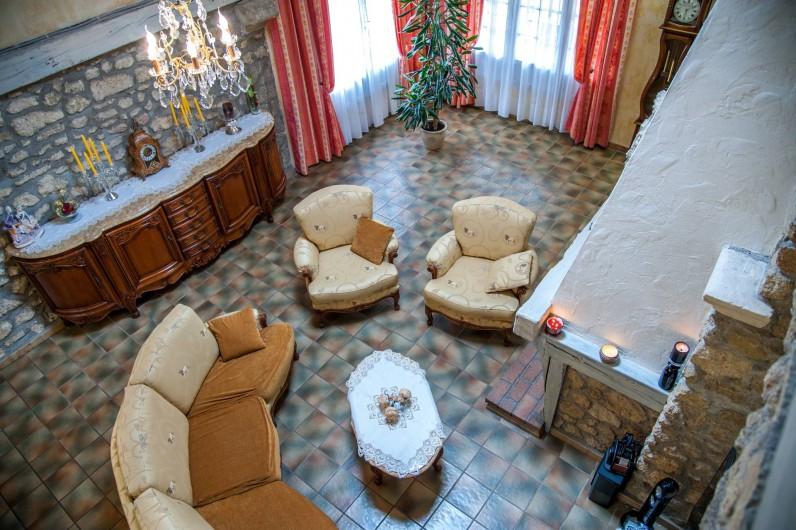 Location de vacances - Gîte à Béziers - Pièce commune pour les chambre d'hôtes