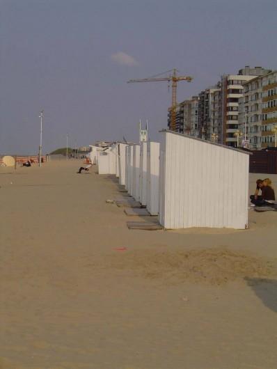 Location de vacances - Appartement à La Panne - 1 cabine de plage inclus
