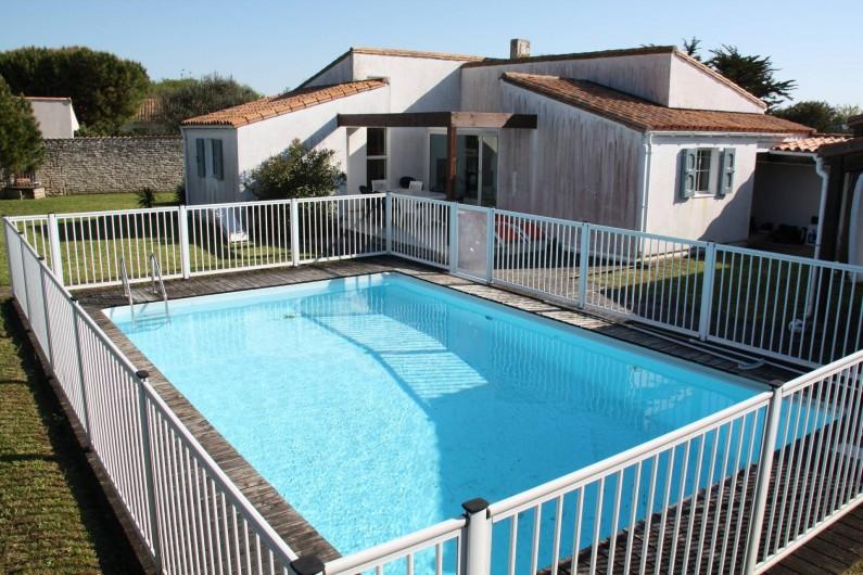 Location de vacances - Maison - Villa à Sainte-Marie-de-Ré - Piscine