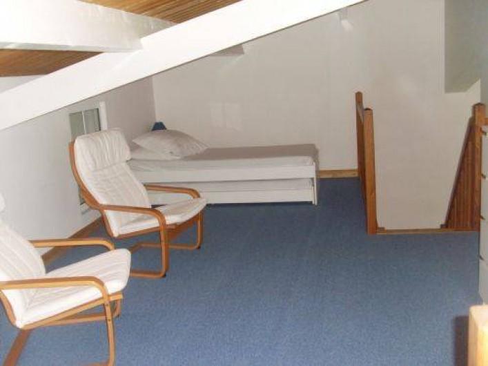 Location de vacances - Maison - Villa à Sainte-Marie-de-Ré - Chambre dortoir 2 lits simples à tiroir