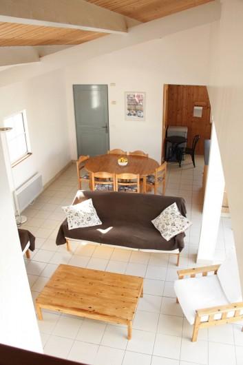 Location de vacances - Maison - Villa à Sainte-Marie-de-Ré - Vue séjour et salle à manger